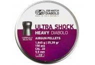 Пули пневматические JSB Ultra Shok Heavy Diabolo 4.52 мм 0.67 грамма (350 шт.)