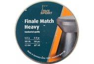 Пули пневматические H&N Finale Match Heavy 4,5 мм 0,53 грамма (500 шт.)