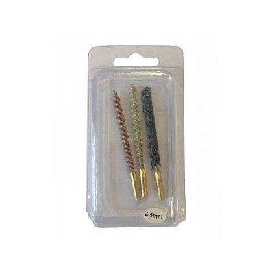 Набор ершей, 4,5 мм, (3 штуки в блистере)