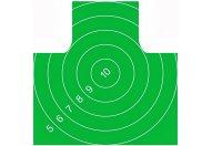 Мишень Remington №4 спортивная 500х500 зелёная (10 шт.)