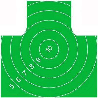 Мишень Remington №4 спортивная 500х500 зелёная