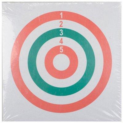 Мишени 3-х цветные 15x15 см (50 шт.)