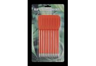 Набор стрел Man Kung для пистолета-арбалета 6.5 пластик (12 шт.) оранжевые