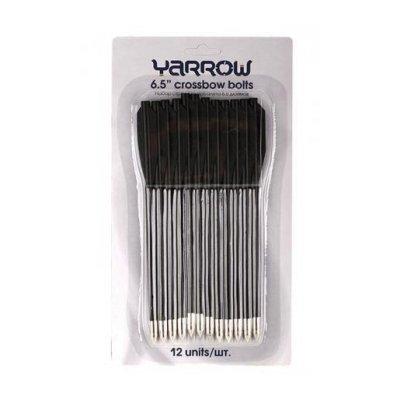 Набор стрел Yarrow для пистолета-арбалета 6.5 пластик (12 шт.) черные