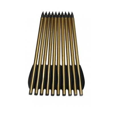 Набор стрел для пистолета-арбалета 6.5 алюминий (12 шт.)