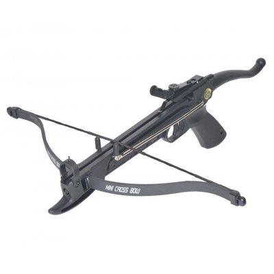 Арбалет-пистолет Man Kung MK-80A4PL (пластиковый корпус, 36 кг)