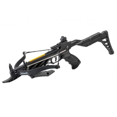 Арбалет-пистолет Man Kung MK-TCS2 Alligator (черный, 36 кг)