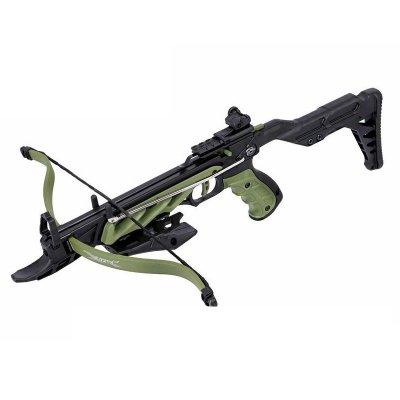 Арбалет-пистолет Man Kung MK-TCS2 Alligator (зеленый, 36 кг)