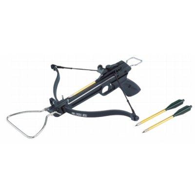 Арбалет-пистолет Man Kung MK-80A1 (пластиковый корпус, 36 кг)