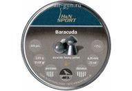 Пули пневматические H&N Baracuda 6,35 мм 2,01 грамма (200 шт.)