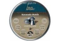 Пули пневматические H&N Baracuda Match 5,52 мм 1,37 грамма (200 шт.)