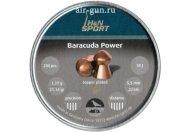 Пули пневматические H&N Baracuda Power 5,5мм 1,37 грамма (200 шт.)
