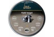Пули пневматические H&N Field Target 6,35 мм 1.58 грамма (200 шт.)