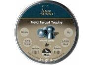 Пули пневматические Н&N Field Target Trophy 5,53 мм 0,95 грамма (500 шт.)