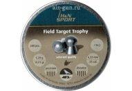 Пули пневматические H&N Field Target Trophy 6,35 мм 1,29 грамма (200 шт.)