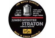 Пули пневматические JSB Straton Jumbo Monster Diabolo 5,5 мм 1,645 грамма (200 шт.)