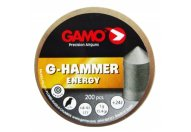 Пули пневматические GAMO G-Hammer 4,5 мм 1.00 грамма (200 шт.)