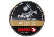 Пули пневматические GAMO Pro Match 4,5 мм 0.49 грамма (500 шт.)