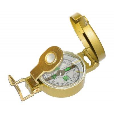 Компас ДС 45-2А, мет. корпус, золотой
