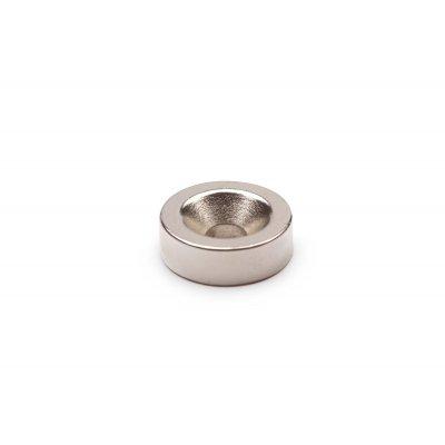 Неодимовый магнит 15х5 мм отверстие 5 мм