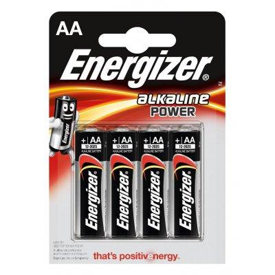 Батарейки Energizer Alkaline POWER AA 4шт