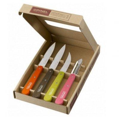 Набор ножей Opinel Les Essentiels №112/113/114/115 - 4 шт. (цветной)