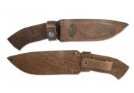 Чехол №12(к) кожаный для нескладного ножа