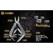 Мультитул Ganzo G105 (22 инструмента)