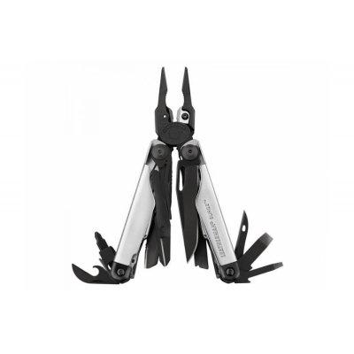 Мультитул Leatherman Surge Black & Silver с нейлоновым чехлом (832462)