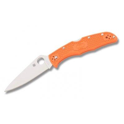 Нож Spyderco Endura 4 Flat Ground Orange C10FPOR