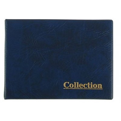 Альбом для монет на кольцах 230х170мм, 10 листов, 120 монет, ячейка 50х52мм