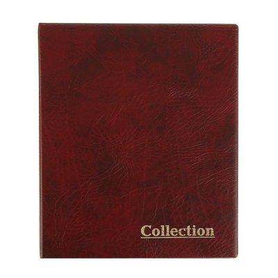 """Альбом """"Collection"""" для монет на кольцах, 230х270мм, формат оптима, без листов (искусственная кожа)"""