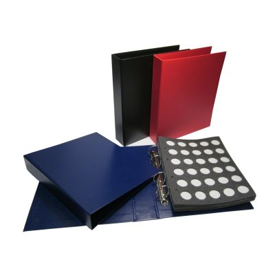 Альбом для пивных пробок на кольцах, 230х270мм, формат оптима (бумвинил)