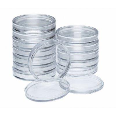 Капсулы круглые для монет до 27 мм (10 шт.)