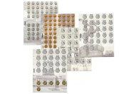 Комплект разделителей для коллекции разменных монет России с 1997