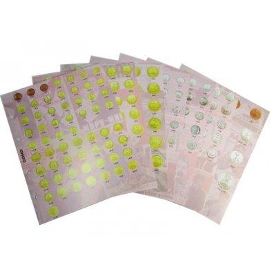 Комплект разделителей для разменных монет СССР 1921-1957