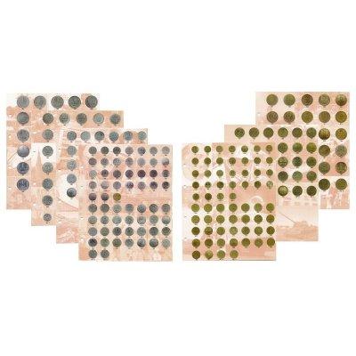 Комплект разделителей для разменных монет СССР 1961-1991