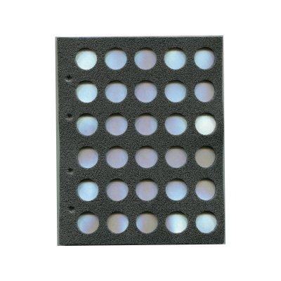 Комплект листов для пивных пробок 200х250мм на 30 мест (5 шт.)