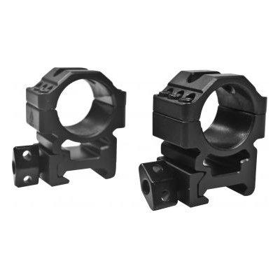 Кольца Leapers UTG 25,4 мм быстросъёмные на Weaver с винтовым зажимом средние RG2W1156