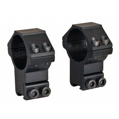 Кольца Leapers AccuShot для установки на оружие с призмой 10-12 мм, STM, высокие RGPM-30H4