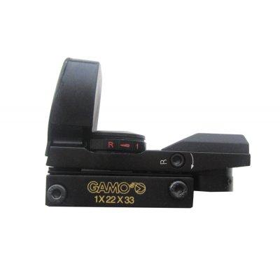 Коллиматорный прицел Gamo 1x22x33 Weaver