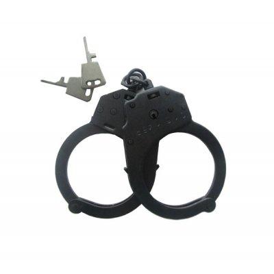 Наручники БР-1КФ Крот (конвойные без фиксатора, черные)