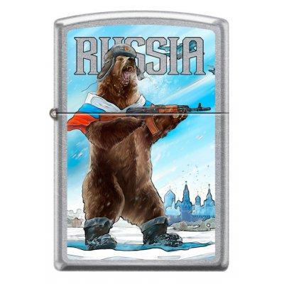 "Зажигалка Zippo 207 ""RUSSIAN BEAR"""