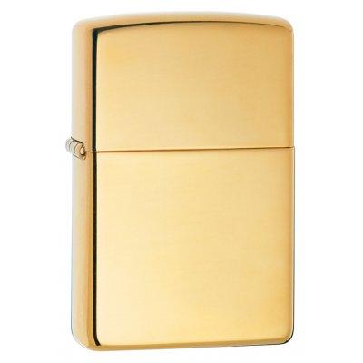 "Зажигалка Zippo 254B ""High Polish Brass"""