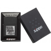 """Зажигалка Zippo 363 """"Black Crackle"""""""