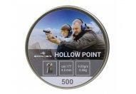 Пули пневматические Borner 4.5 мм Hollow Point 0.58 грамм (500 шт.)