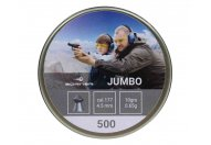 Пули пневматические Borner 4.5 мм Jumbo 0.65 грамма (500 шт.)