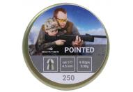 Пули пневматические Borner 4.5 мм Pointed 0.58 грамм (250 шт.)