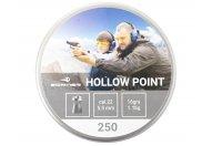 Пули пневматические Borner 5.5 мм Hollow Point 1.15 грамма (250 шт.)